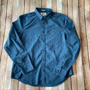 Original penguin men's slim fit button down shirt
